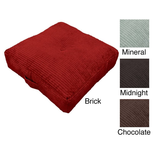 Perry Oversize 24-inch Floor Cushion Pillow - Free Shipping On ...