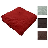 Hi-Lo Plush Oversize 24-inch Floor Cushion Pillow - Free Shipping On ...