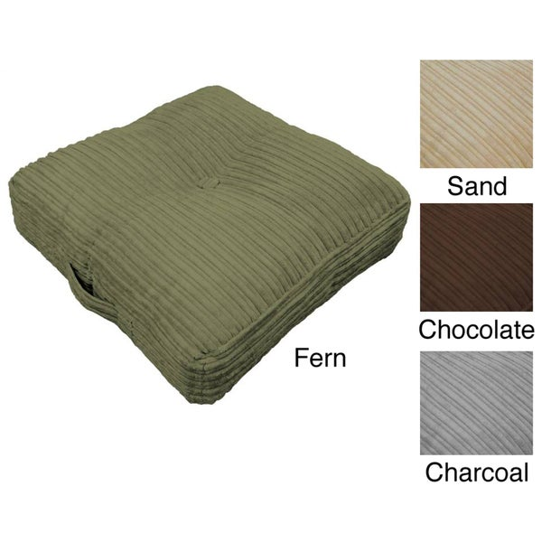 Oversized Plush Floor Pillows : Hi-Lo Plush Oversize 24-inch Floor Cushion Pillow - Free Shipping On Orders Over $45 - Overstock ...