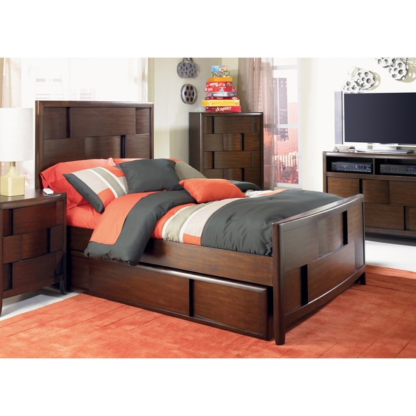 Twilight Full Panel Bed