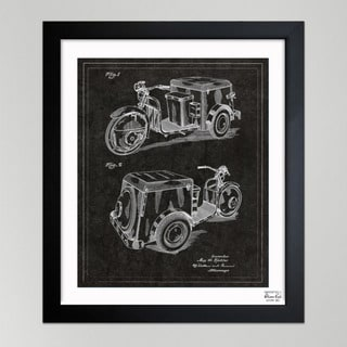 Oliver Gal 'Kistler, Three-Wheeled Car, 1952' Framed Paper Wall Decor
