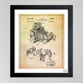 Oliver Gal 'Bing, Polaroid Camera Accessory, 1966' Framed Paper Art Print