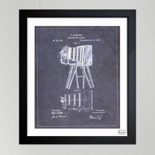 Oliver Gal 'Samuels Photographic Camera, 1885' Framed Paper Wall Decor