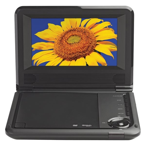 "VOXX Electronics D7021 Portable DVD Player - 7"" Display - 480 x 234"