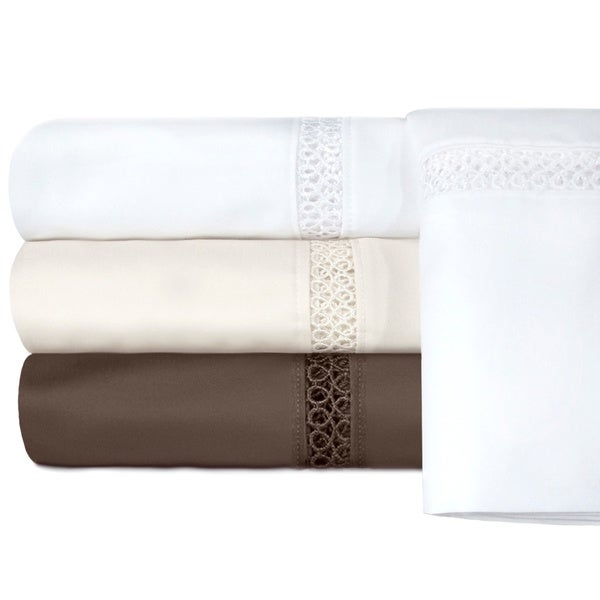 Grand Luxe Egyptian Cotton Payton 800 Thread Count Sheet Separates