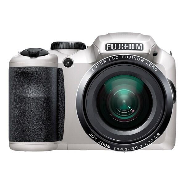 Fujifilm FinePix S6800 16.2 Megapixel Compact Camera - White