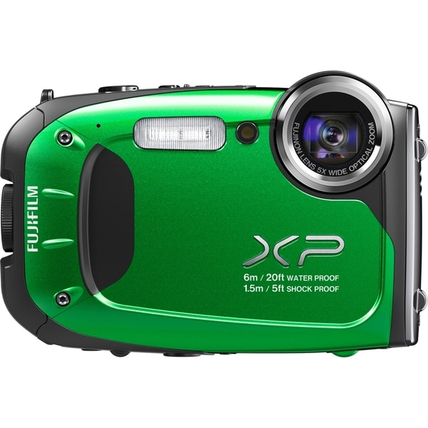 Fujifilm FinePix XP60 16.4 Megapixel Compact Camera - Green