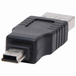 4XEM Mini USB To USB 2.0 M/M Adapter
