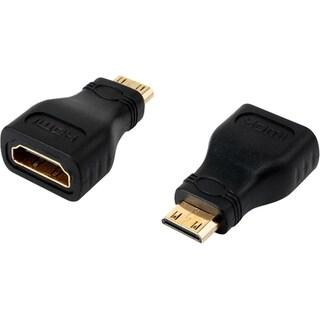 4XEM Mini HDMI Male To HDMI A Female Adapter