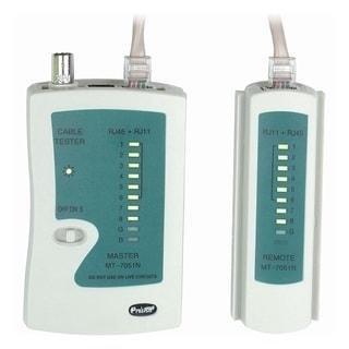 4XEM RJ45/RJ11 Network Cable Tester