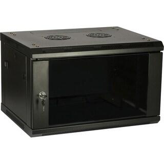 4XEM 6U Wall Mount Server Rack Cabinet