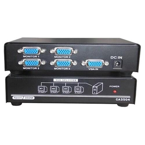 4XEM 4-Port VGA Splitter 350 MHz #4XVGASP3504