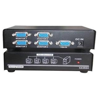 4XEM 4-Port VGA Splitter 350 MHz