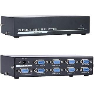 4XEM 8-Port VGA Splitter 350 MHz