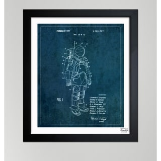 Oliver Gal 'Space Suit II, 1973' Framed Paper Wall Art