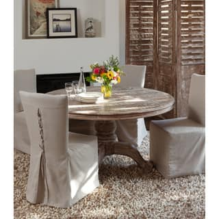 round dining room table. Hamshire Reclaimed Wood 60 inch Round Dining Table by Kosas Home Room  Kitchen Tables For Less Overstock com