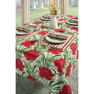 Benson Mills Blooms Indoor/ Outdoor Tablecloth