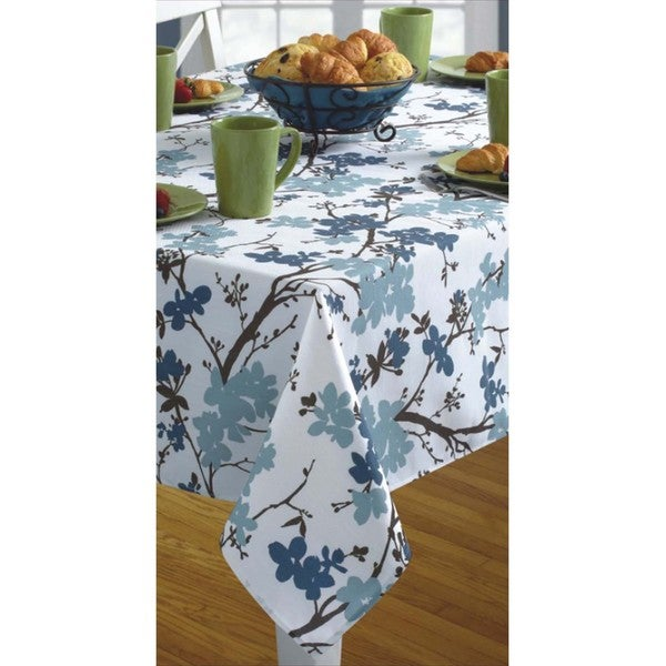 Benson Mills Slate Modern Touch Indoor/ Outdoor Tablecloth