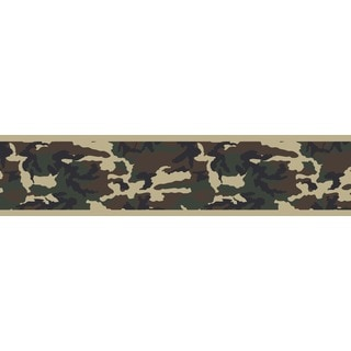 Sweet JoJo Designs Army Camoflauge Wall Border