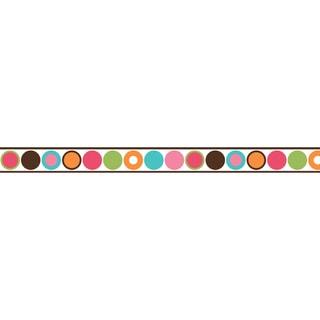 Shop Sweet Jojo Designs Modern Deco Dot Wall Border Free