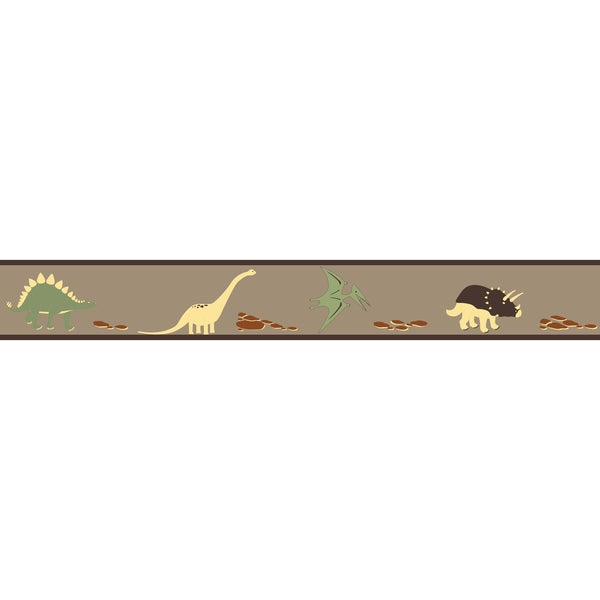 Sweet JoJo Designs Dinosaur Wall Border
