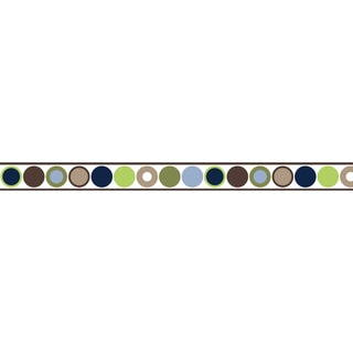 Sweet JoJo Designs Designer Dot Modern Wall Border