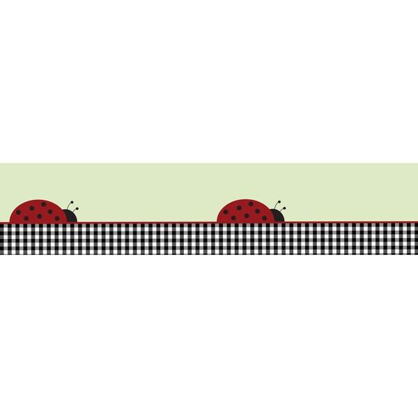Sweet JoJo Designs Ladybug Parade Wall Border