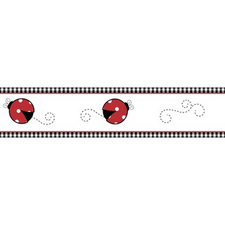 Sweet JoJo Designs Little Ladybug Wall Border