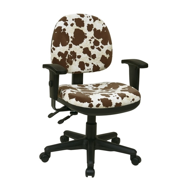 Shop Animal Print Multi Controlled Sculpted Chair With