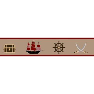 Sweet JoJo Designs Treasure Cove Pirate Wall Border