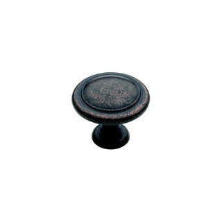 Amerock Reflections1.25-inch Rustic Bronze Cabinet Knob (Pack of 5)