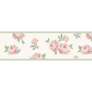 Sweet JoJo Designs Riley's Roses Wall Border