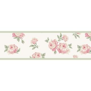 Sweet JoJo Designs Riley's Roses Wall Border