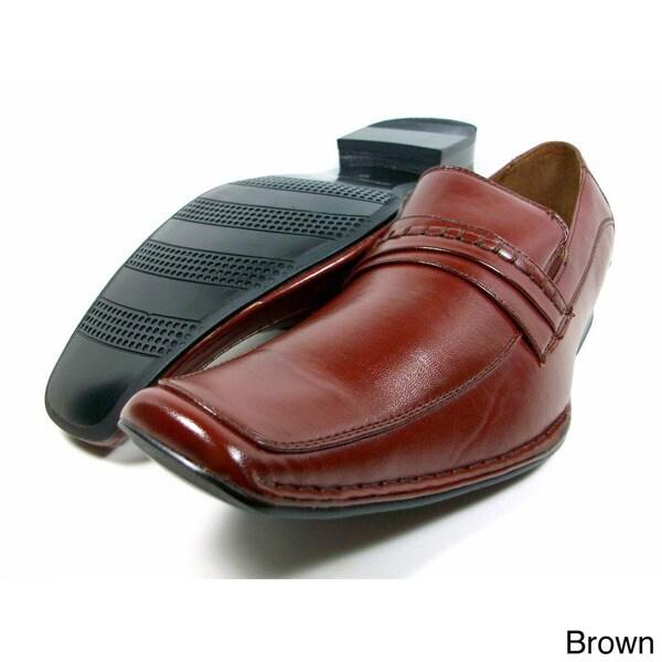 Delli Aldo Men's Padded Slip-on Loafers