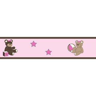 Sweet JoJo Designs Teddy Bear Wall Border