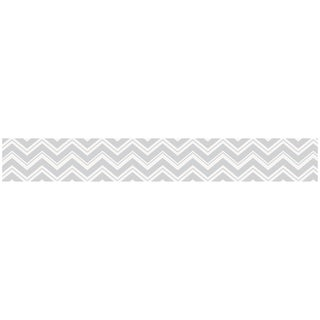 Sweet JoJo Designs Grey Zig Zag Modern Wall Border
