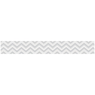 Sweet JoJo Designs Grey Zig Zag Modern Wall Border