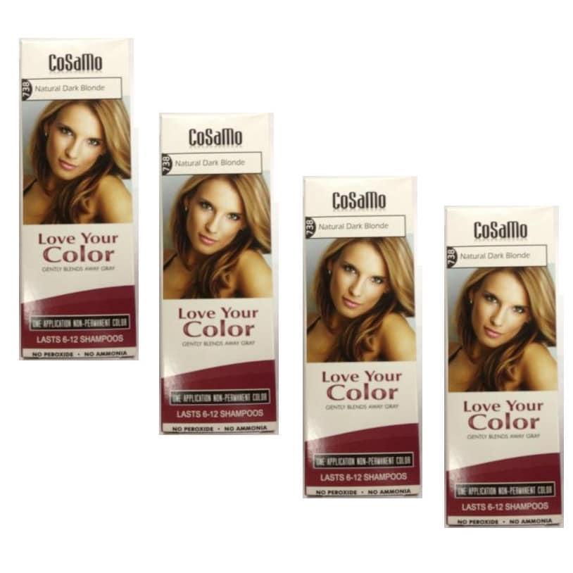 CoSaMo Love Your Color Non-Permanent 738 Natural Dark Blo...