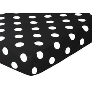 Sweet JoJo Designs Dot Print Hot Dot Fitted Crib Sheet|https://ak1.ostkcdn.com/images/products/7707355/7707355/Sweet-JoJo-Designs-Dot-Print-Hot-Dot-Fitted-Crib-Sheet-P15113967.jpg?impolicy=medium