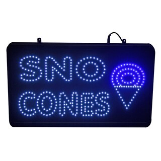 Paragon 'Sno Cone' LED Lighted Sign