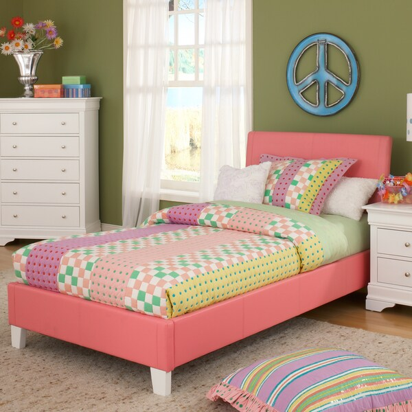 Bernards Pink Youth Twin-size Bed