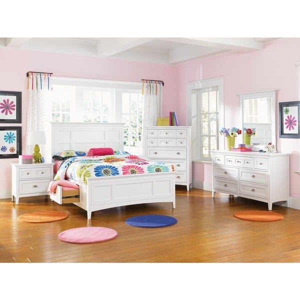 Kenley Twin Panel Bed with Storage