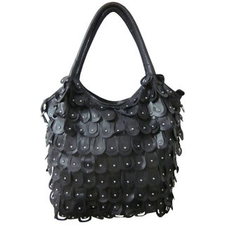 Amerileather 'Peacock' Tote Handbag