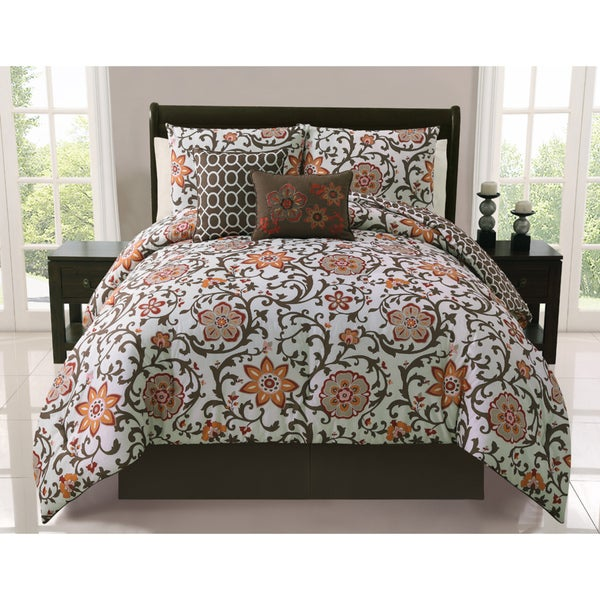 VCNY Calista 5-piece Reversible Comforter Set