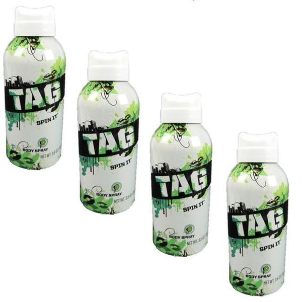 Tag Spin It 3.5-ounce Body Spray