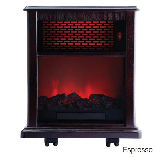 American Comfort ACW0040 Fireplace 1500W Portable Infrared Heater