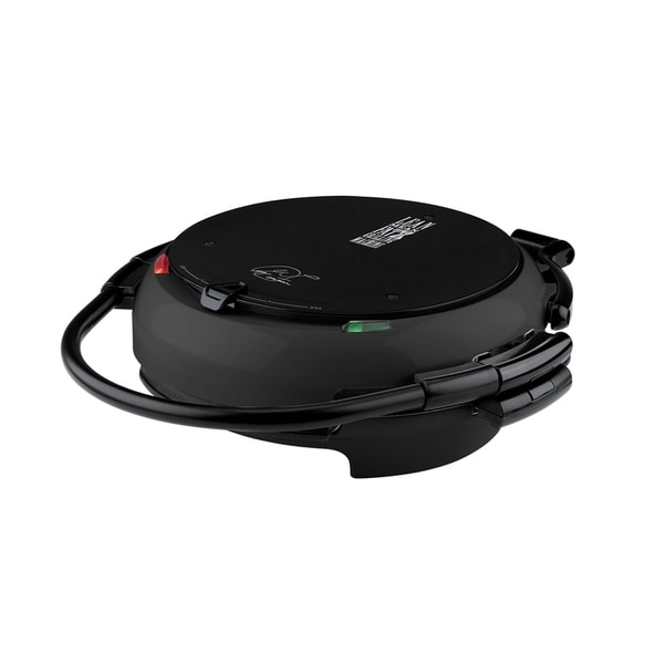 George Foreman GRP106QPGB 360 Electric Nonstick Grill with Grill Plates