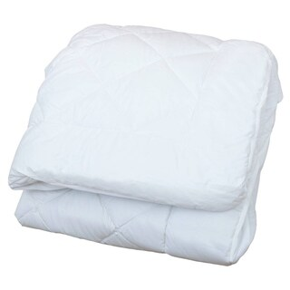 Classic Linen Bristol Diamond Quilted Waterproof Mattress Pad (2 options available)