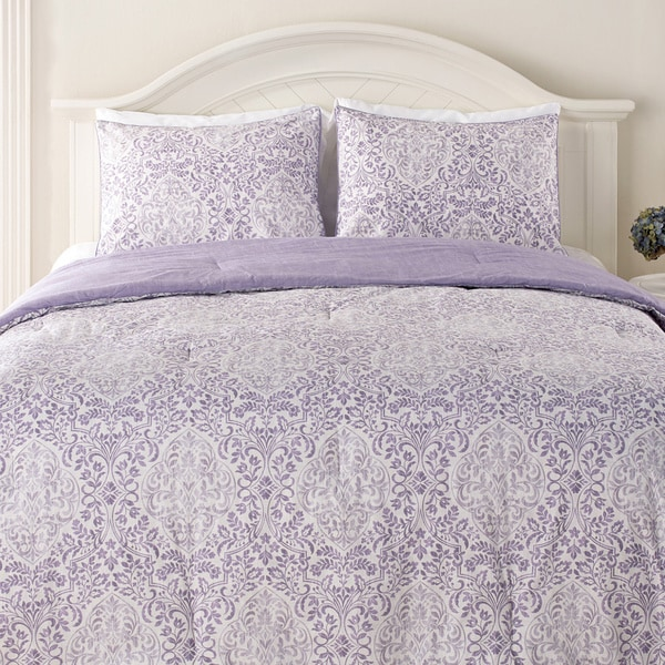 Laura Ashley Winchester 3 Piece Comforter Set Free