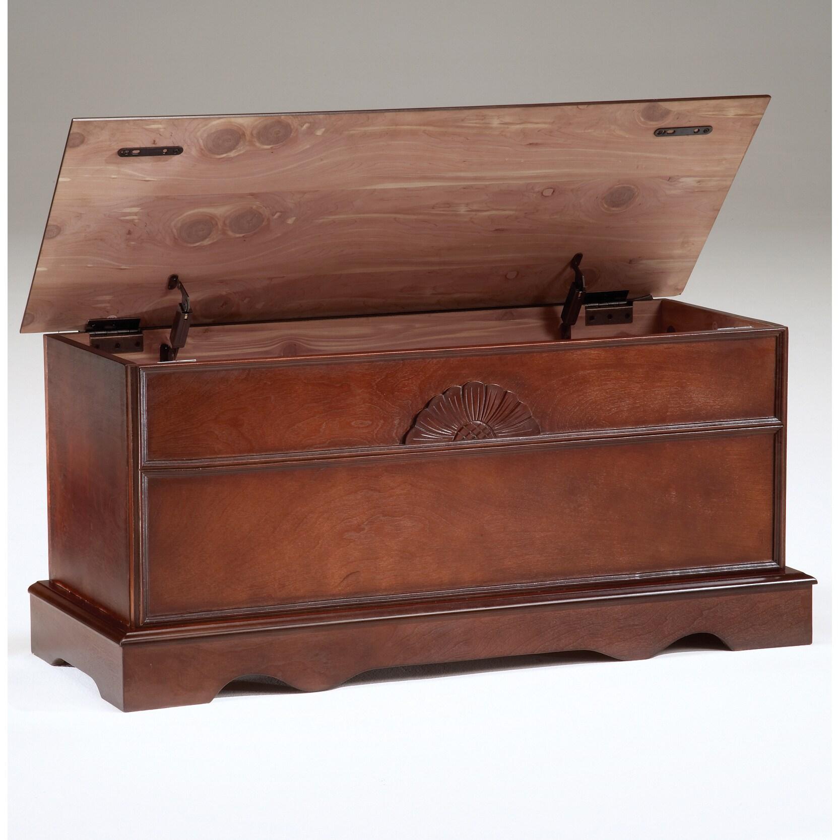 Bernards Furniture Cherry Cedar Box with Lid (Cedar BOX W...